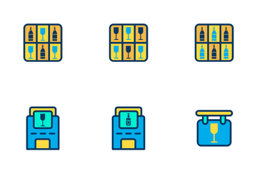 Bar - Lineal Color Icon Pack