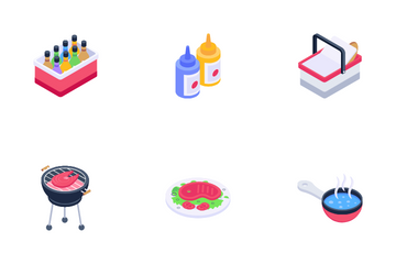 Barbecue Icon Pack