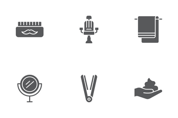 Barber Shop Icon Pack