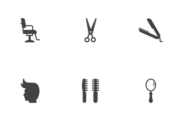 Barber Tools  Icon Pack