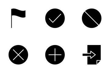 Basic Design Icon Pack
