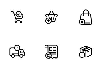 Basic E-commerce Icon Pack