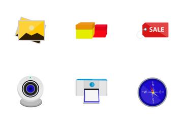 Basic Flat Vol 1 Icon Pack