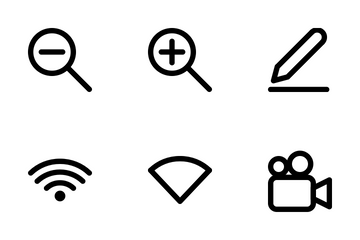 Basic Icons For User Interface Icon Pack