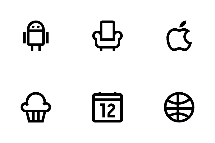 Basic Icons Vol 1 Icon Pack
