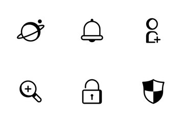 Basic Interface Icon Pack