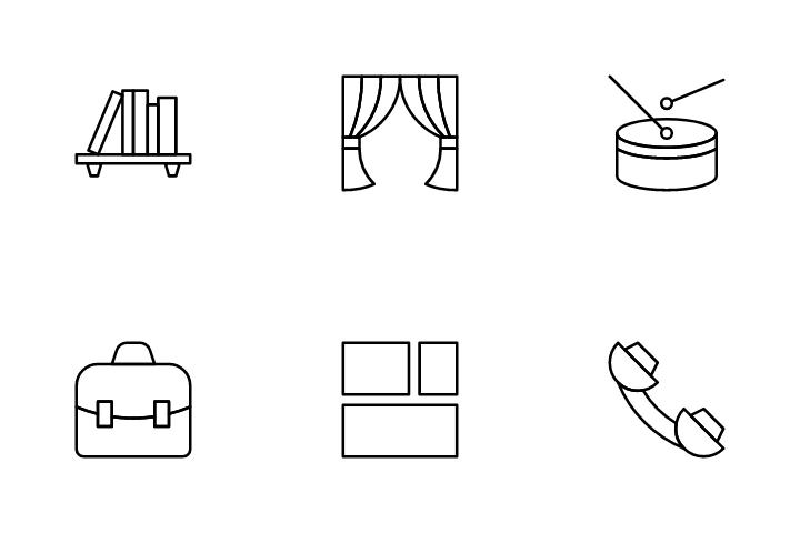 Basic Needs Icon Pack