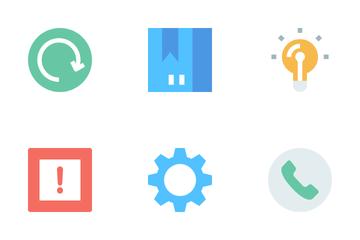 Basic UI Elements Icon Pack