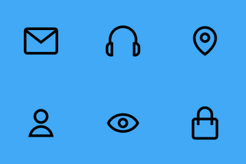 Basic UI Icons Icon Pack