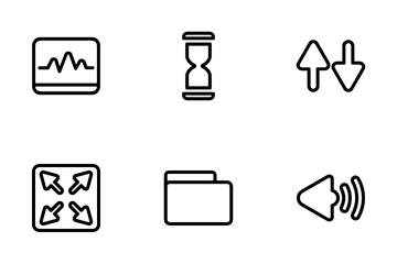 Basic Ui Set 2 Icon Pack
