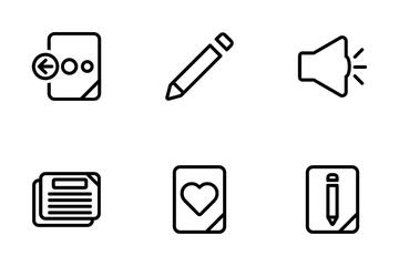 Basic Ui Set 3 Icon Pack