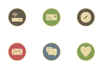 Basic UI Vintage Icon Pack