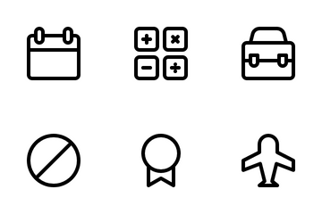 Basic UI Vol II Icon Pack. Icon Pack