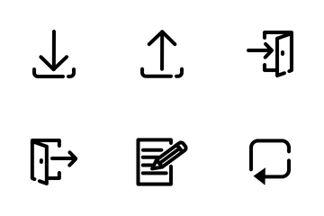 Basic User Interface Icon Pack