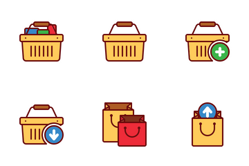 Basket Icon Pack