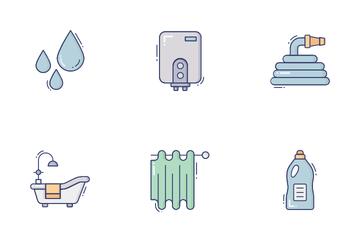 Bath Room Icon Pack