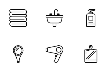 Bathroom Icon Pack