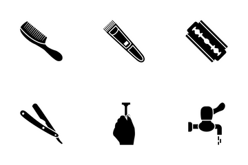 Bathroom Accessories Icon Pack