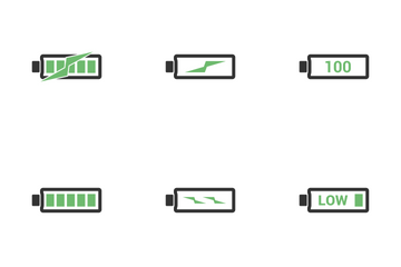 Battery Icon Icon Pack