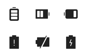 Battery Indicator Icon Pack