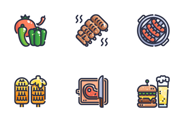 BBQ Icon Pack