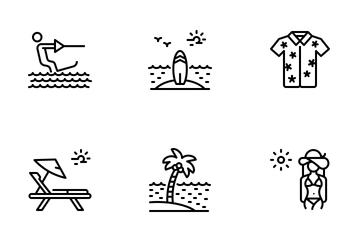 Beach Icon Pack
