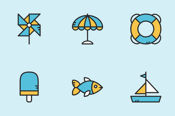 Beach Icon Pack