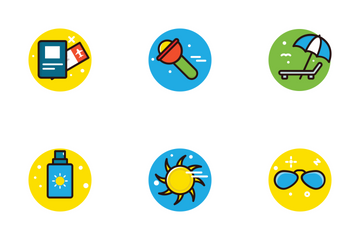 Beach And Camping   Icon Pack