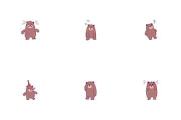 Bear Icon Pack