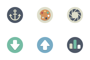Beautiful Flat Icons Icon Pack