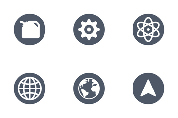 Beautiful Single Color Icons Icon Pack