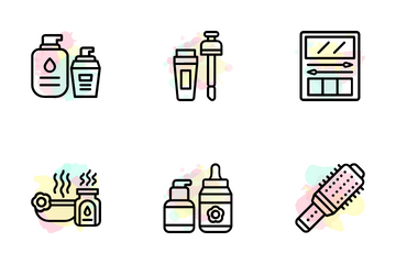 Beauty And Cosmetics Icon Pack