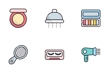 Beauty And Hygiene Icon Pack