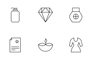 Beauty And Spa Vol 1 Icon Pack