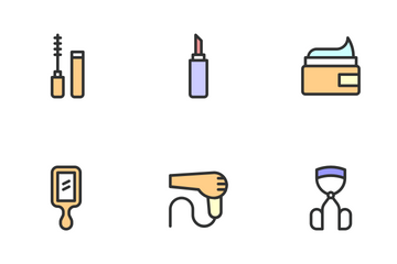 Beauty Care - Focused Icon Pack