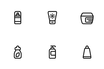 Beauty & Cosmetics Icon Pack