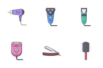 Beauty Elements Icon Pack