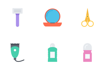 Beauty Flat Icon Pack