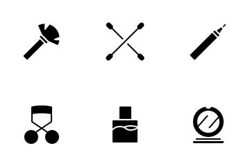 Beauty Hack (Glyph) Icon Pack