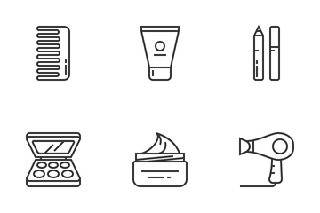 Beauty Parlor Icon Pack