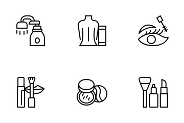 Beauty Product Icon Pack