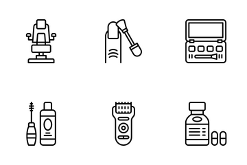 Beauty Saloon Icon Pack