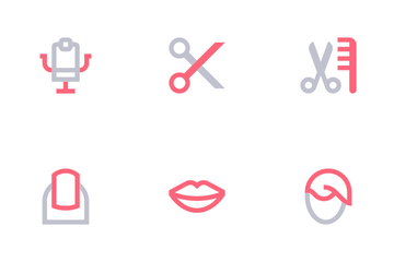 Beauty Shop Icon Pack