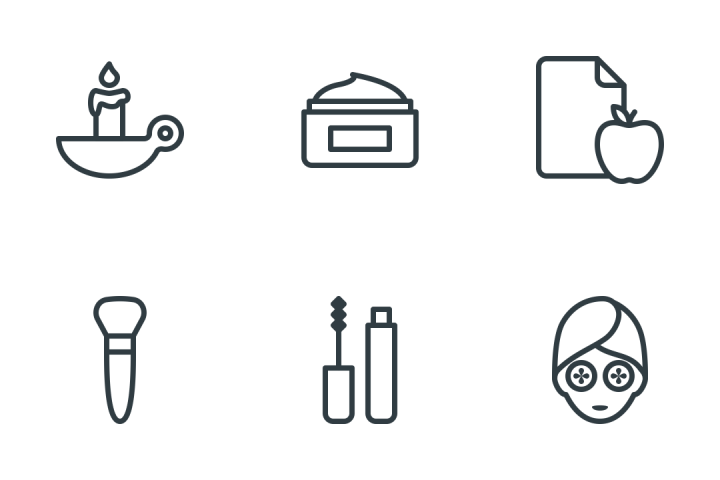 Beauty & Spa Icon Pack