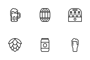 Beer Day Icon Pack