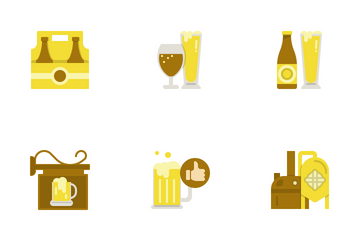 Beer Flat Icon Pack