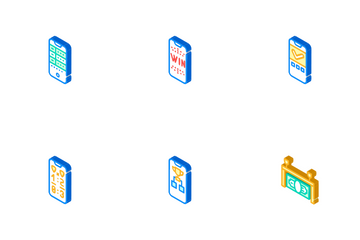Betting On Gambling Icon Pack