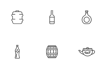 Beverage Icon Pack