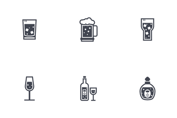 Beverage And Drink Icon Pack
