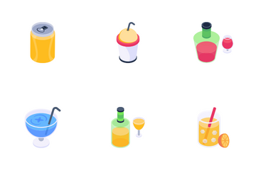 Beverages Icon Pack